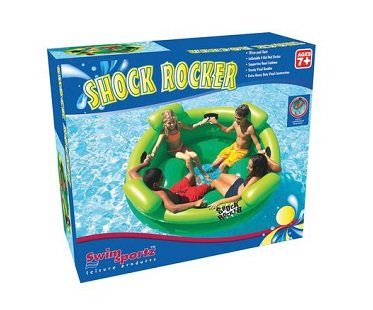inflatable pool rocker box