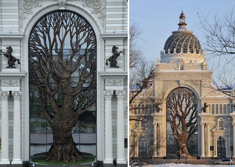 iron tree russia