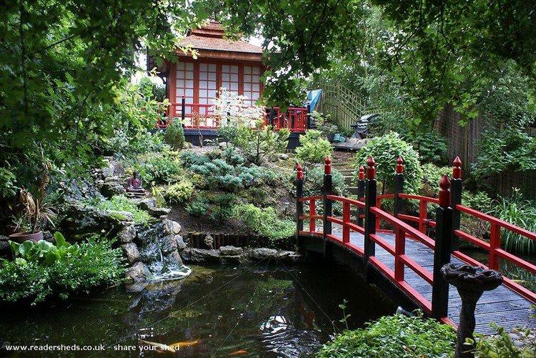 japanese shed