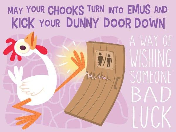 kick dunny door