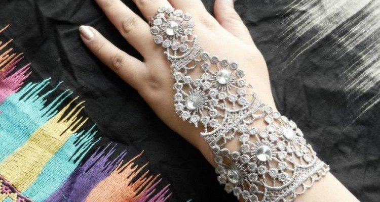 lace bracelet ring