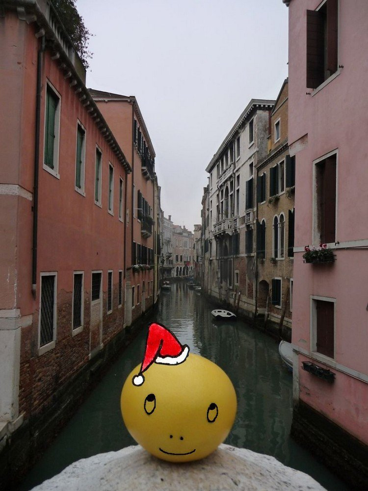 lemon hat venice canal