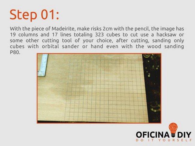 link pixel wood