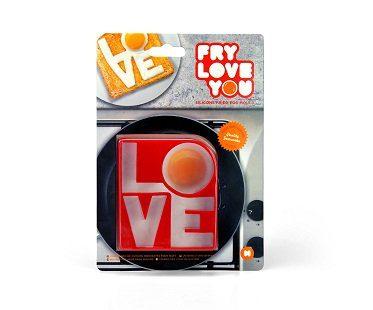 love fried egg mold pack