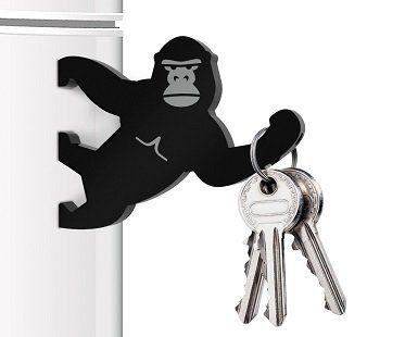 magnetic gorilla key holder fridge
