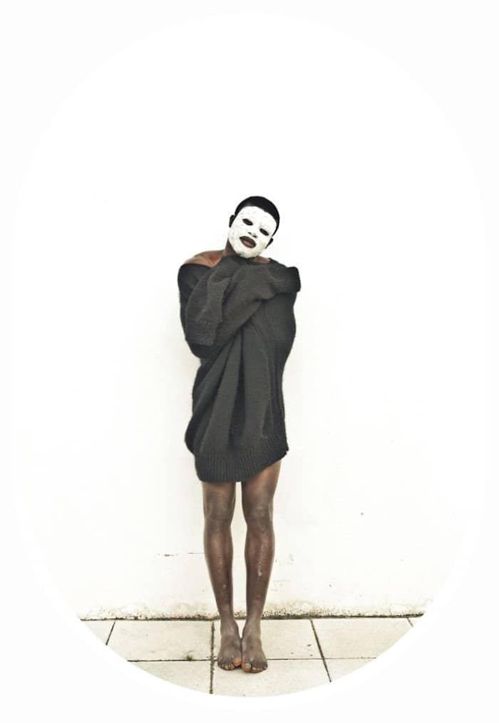 man black sweater