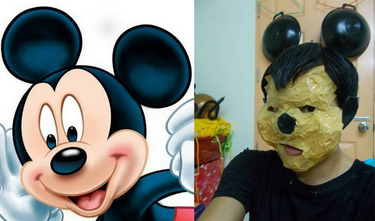 mickey mouse cosplay