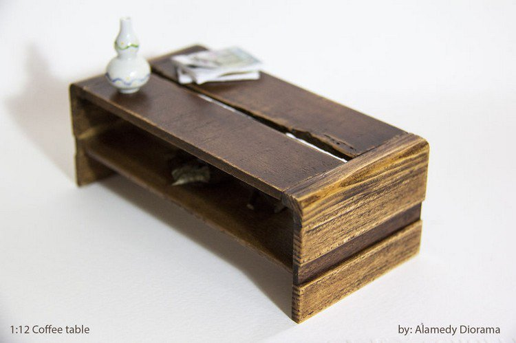 mini coffee table alamedy