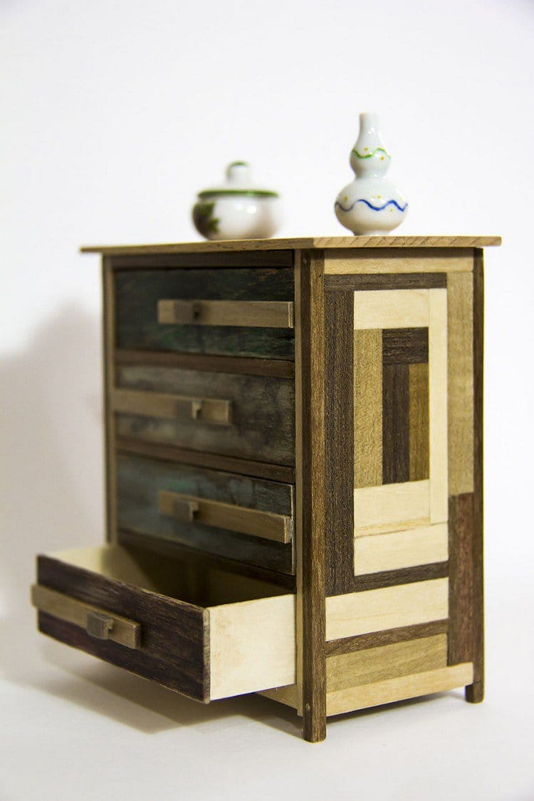 mini furniture open drawer