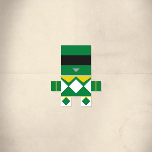 minimalist-pop-green-ranger