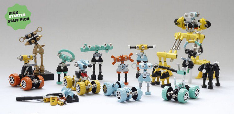 offbits robot collection