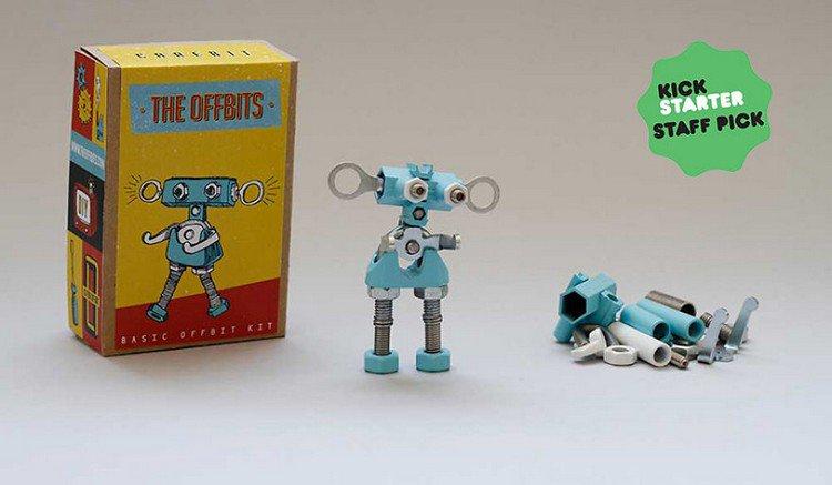 offbits robot parts box