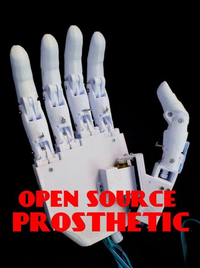 open source prosthetic hand