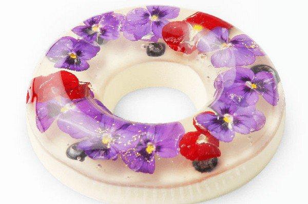 pansy ring dessert