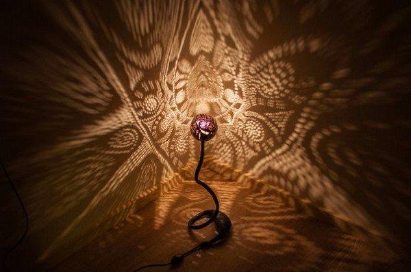 patterns nymphs lamp