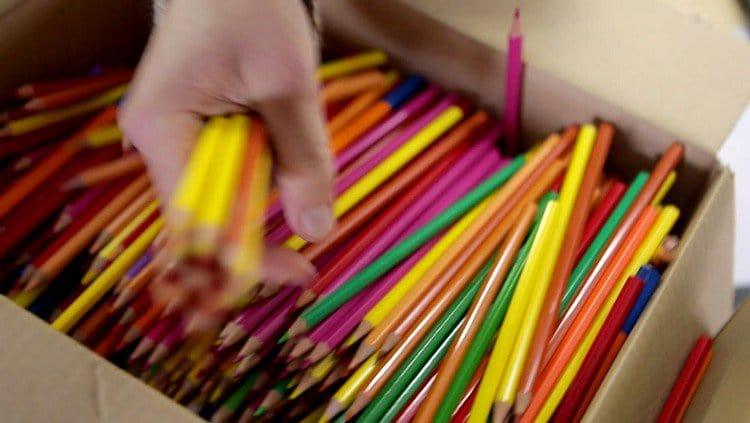 pencils box