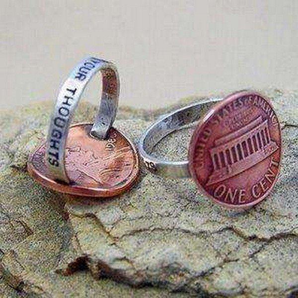 penny rings