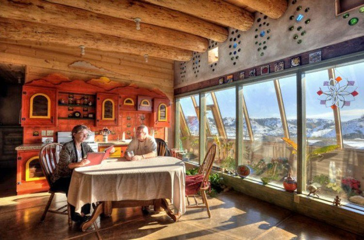 people earthship