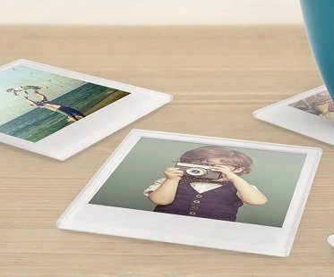 personalized picture coasters