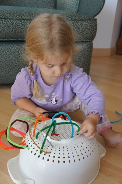 pipe cleaners colander