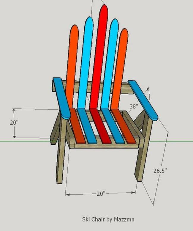 plan ski chair
