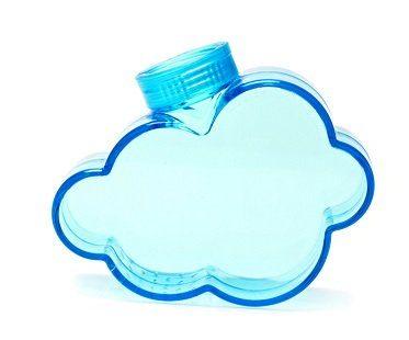 plant watering cloud blue