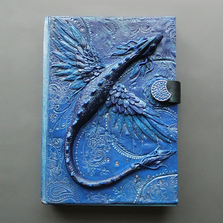 polymer-clay-book-covers-by-aniko-kolesnikova-blue