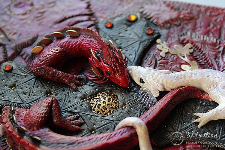 polymer-clay-book-covers-by-aniko-kolesnikova-dragon-close