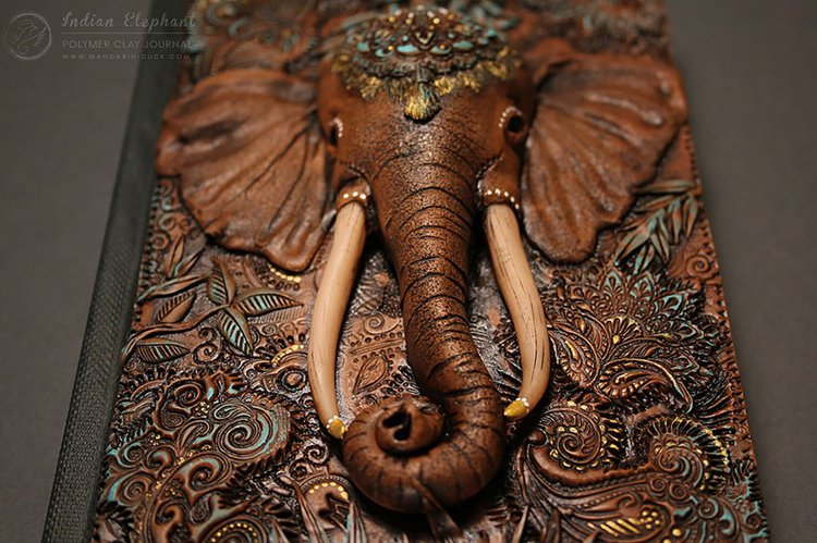 polymer-clay-book-covers-by-aniko-kolesnikova-elephant-nest