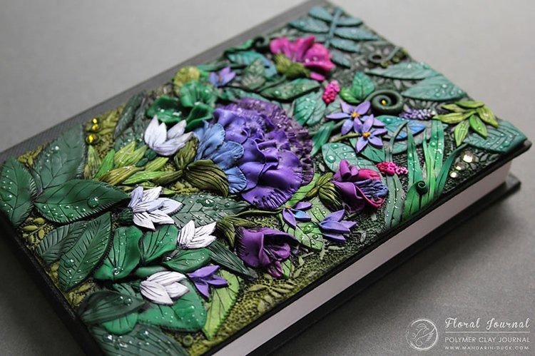 polymer-clay-book-covers-by-aniko-kolesnikova-floral
