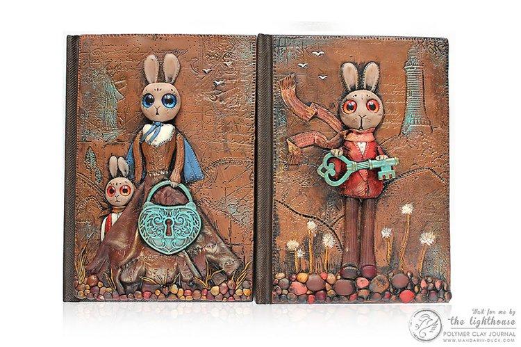 polymer-clay-book-covers-by-aniko-kolesnikova-lighthouse