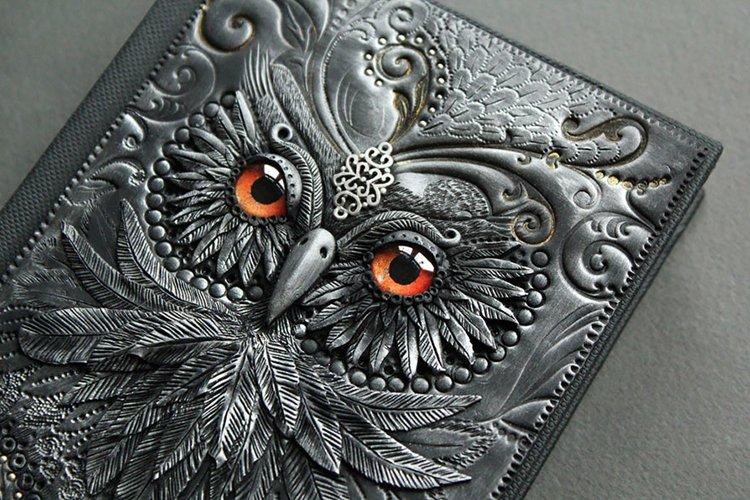 polymer-clay-book-covers-by-aniko-kolesnikova-owl-top