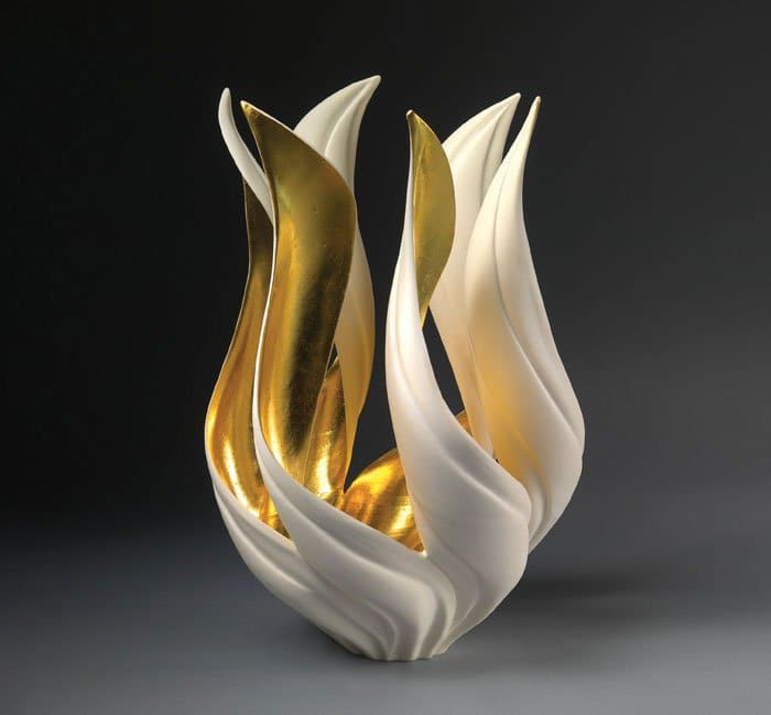 Artist Jennifer Mccurdy Creates Stunning Nature Inspired Vases