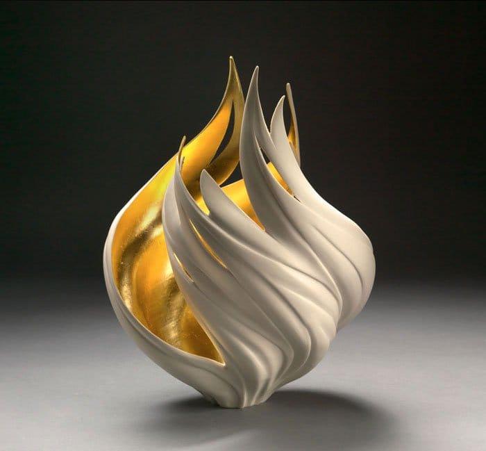 porcelain-gold-leaf-sculpture-vase-jennifer-mccurdy