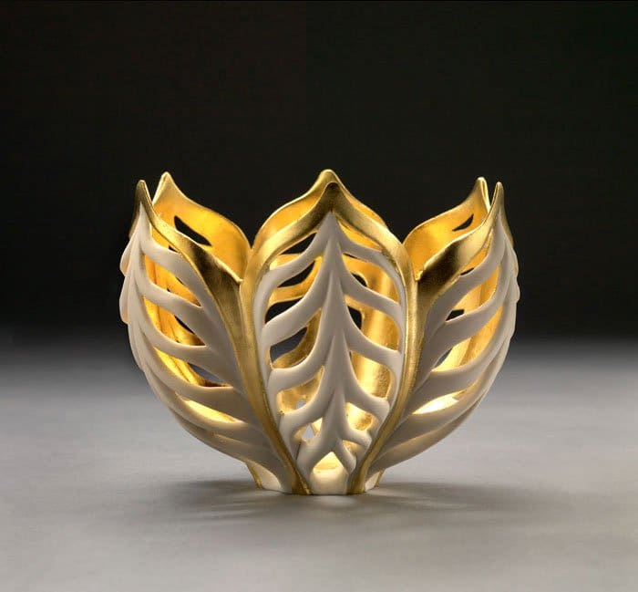 Artist Jennifer Mccurdy Creates Stunning Nature Inspired Vases