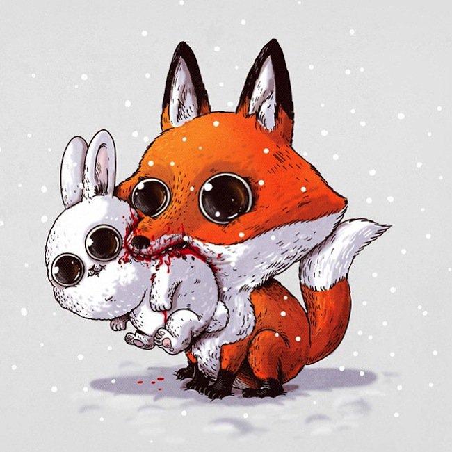 predator-fox