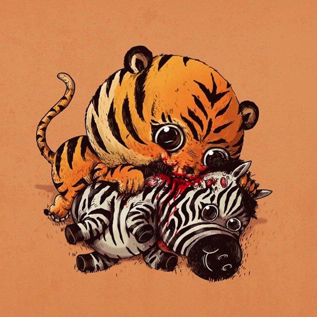 predator-tiger