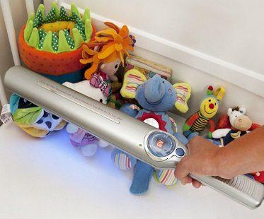 sanitizing wand toys