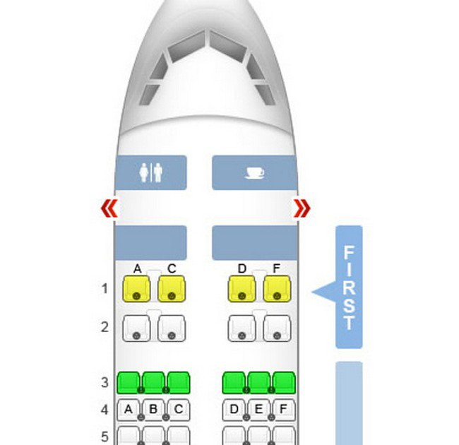 seating plan plane