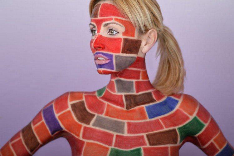 sharpie model bricks