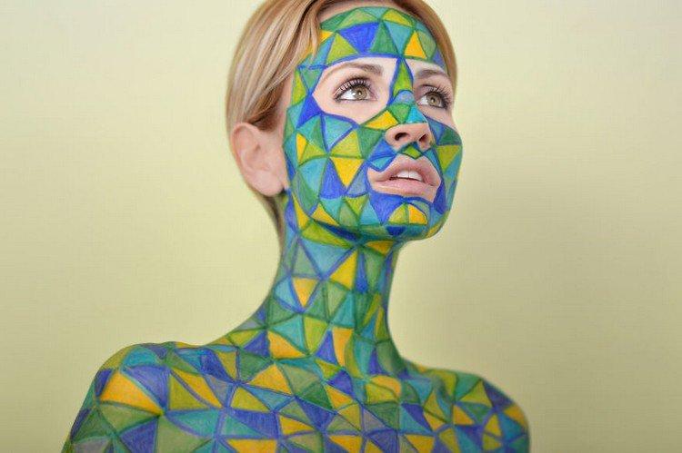 sharpie model triangles