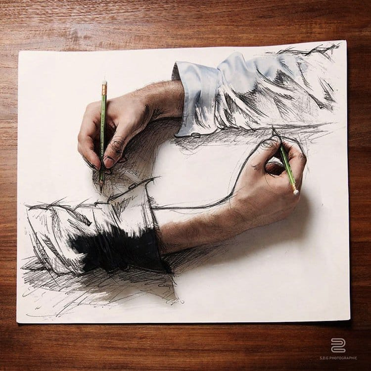 sketch-hand