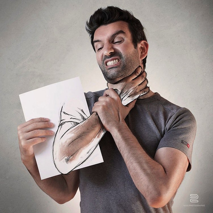 sketch-throat