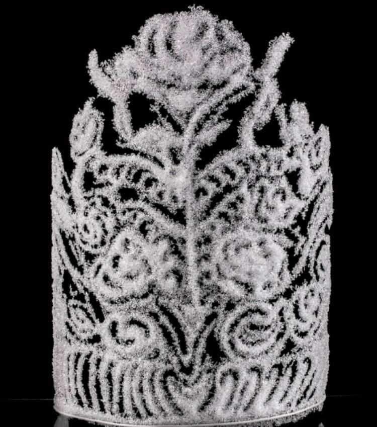 snow glass crown