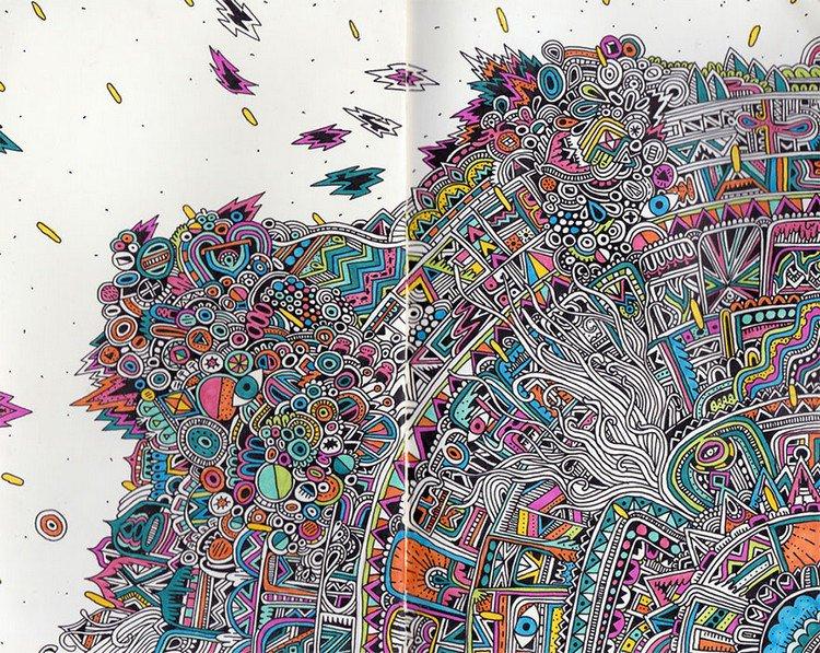 sophie roach colorful debris