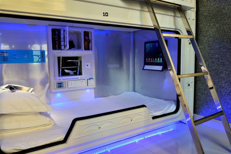 Spend A Night In This Space Hotel In China And Be Served