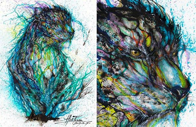 splatter-artist-hua-tunan-leopard-next