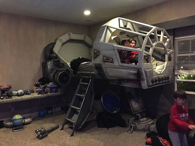 This Amazing Dad Built An Awesome Star Wars Millennium