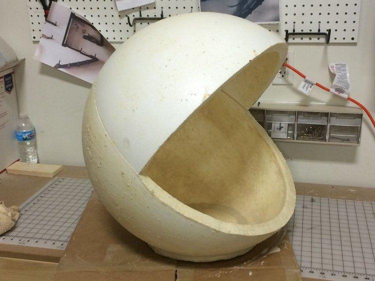 styrofoam chomp head