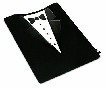 suit tablet cover tux